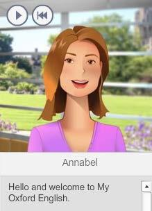 These are the contents of each section: Annabel, your virtual teacher The virtual teacher, Annabel, will help and guide you during the course.