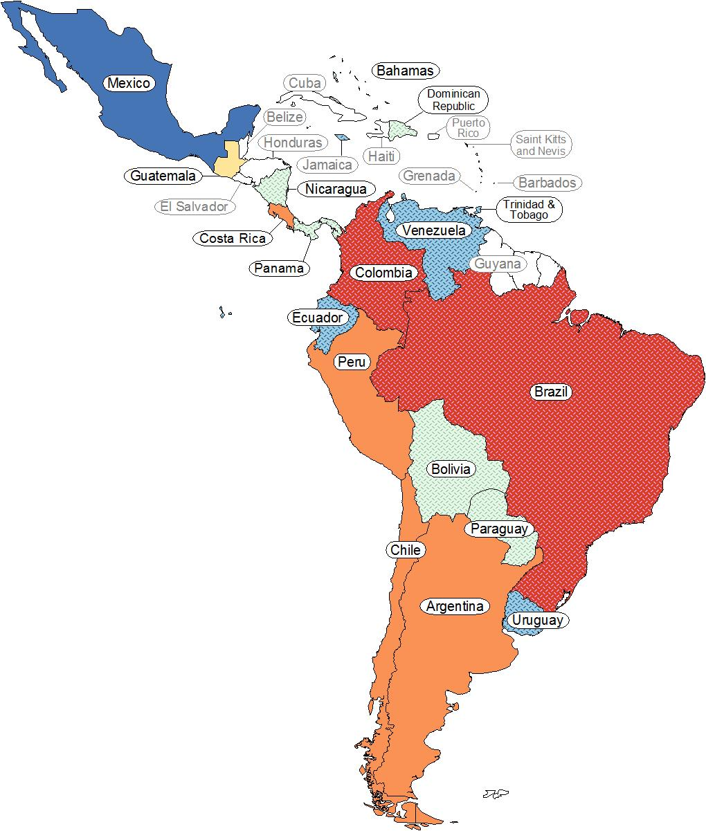 Page 25 Country Count 6 1 1 2 Number of Students 5 3-9 4 10-28 2 29-60 1 61-67 Top 5 Countries in Region Represented at Cornell Mexico Brazil Colombia Peru Chile Top
