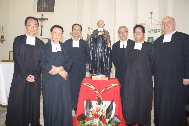Celebration of the Canonization of St. Brother Solomon, Singapore The Lasallian family in Singapore celebrated the canonization of St. Solomon Le Clercq, FSC, on 5th November 2016. Although St.