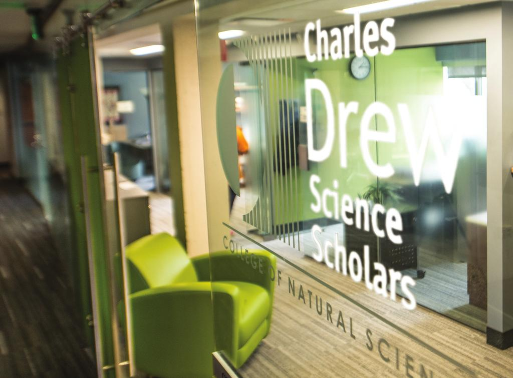 The Charles Drew Science Scholars program is named to honor the academic and scientific legacy of Dr. Charles Richard Drew, an eminent physician and researcher. Dr. Drew was a pioneer in blood plasma preservation and was a major contributor to the advancement of blood banking in the United States.