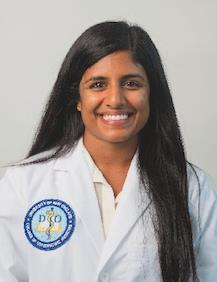 Sindhuja Ranganathan University of New England sranganathan@une.edu BIO: Sindhuja is a 3rd year medical student at the University of New England College of Osteopathic Medicine.