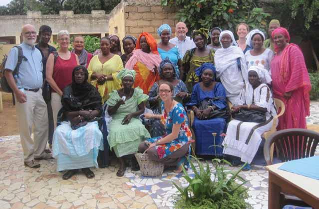 MSU program faculty and Michigan participants meet with leaders from the Political and Economic Empowerment Program for Women in Senegal MSU Successfully Completes the Leadership Fellows Program in