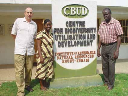 Completes Collaborative Research Study with KNUST, Ghana and Partners on Indigenous Leafy Vegetables C ASID Director Rob Glew has co-authored the final publication to result from a multi-year
