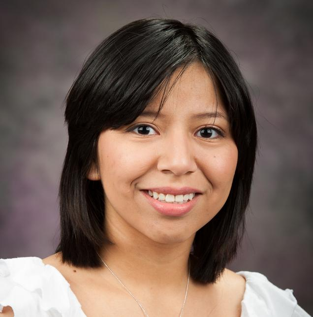A Star is Born Obdulia Covarrubias, transfer student from Garden City, KS, came to K-State via the National Institutes of Health Bridges to the Future grant.