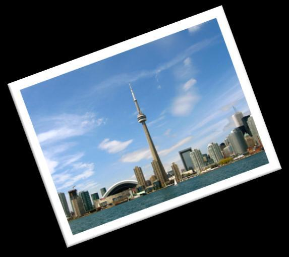 CITY OF TORONTO Toronto, the most populated city in Canada and the provincial