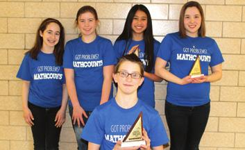 Junior High MATHCOUNTS The MATHCOUNTS Competition Program is a national middle school coaching and competitive mathematics program that promotes mathematics achievement through a series of fun and