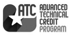 Advanced Technical Credit Program The Advanced Technical Credit (ATC) Program provides a pathway for high school students to begin earning college credit toward a certificate or degree.