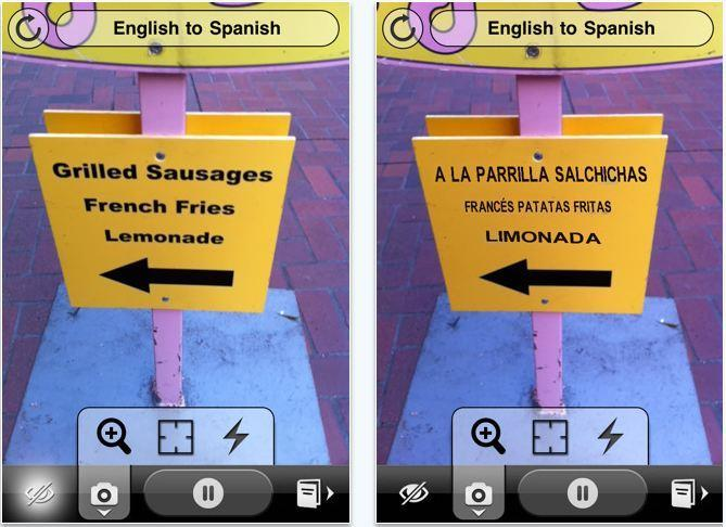 So the next time you're translating a foreign menu or sign in Prague with the latest version of Google's Translate app,