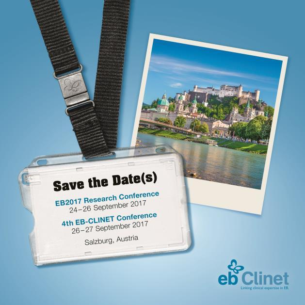 EB-CLINET Conference 26-27 September 2017 47th Annual ESDR Meeting