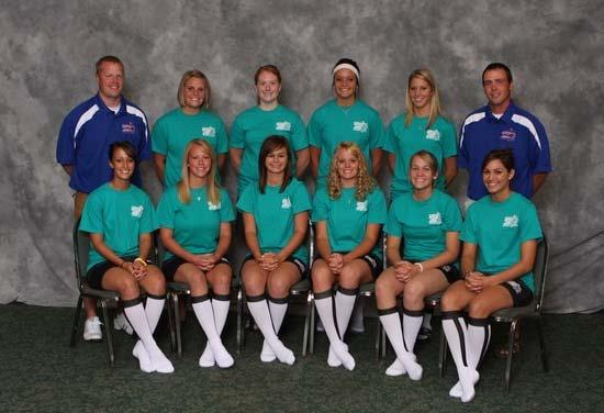 2009 All Star Players and Coaches Lightning Roster: Alyssa Dunrud, Kate Rentschler, Callie Dahl, Anna Marie Martino,