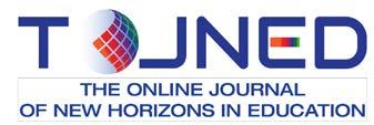 ISSN: 2146-7374 The Online Journal of New Horizons in Education Volume 8 Issue 1 January 2018 Editor-in-Chief Prof. Dr. Aytekin İşman Editors Prof. Dr. Colleen SEXTON Prof. Dr. Jerry WILLIS Prof. Dr. Teressa FRANKLIN Prof.