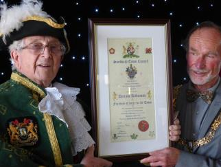 Cheshire for the third time in succession. Organised by Cheshire Community Action the town won in the Best Market Town category for town s with over a 10,000 population on the 15 October 2015.