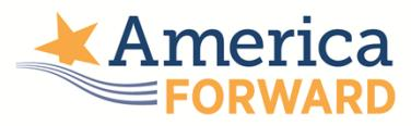 America Forward on K- 12 Education America Forward is the nonpartisan policy initiative of New Profit, a national nonprofit venture philanthropy fund that seeks to break down barriers between all