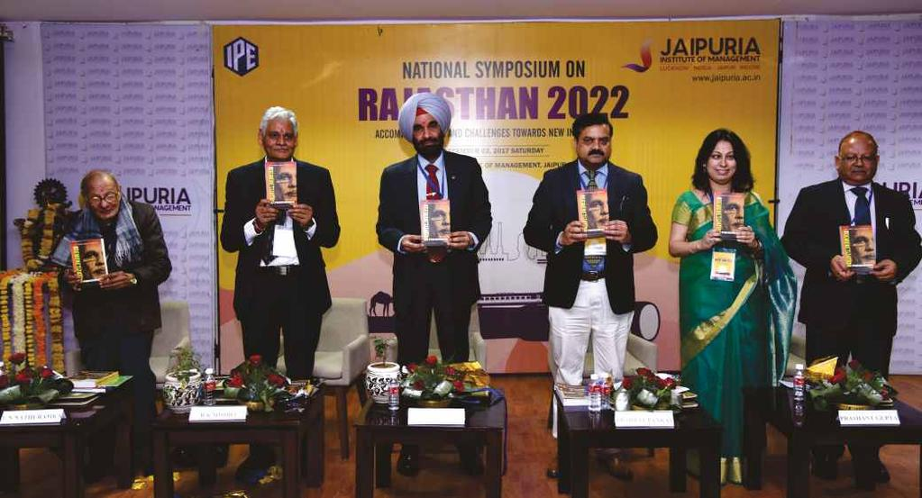 the SDGs will be by 2022? The symposium was successfully coordinated by Dr. Prashant Gupta and Dr. Sheenu Jain.