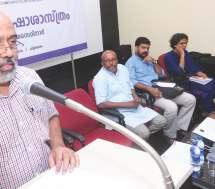 He opined at e Malayalam University is to have its own research meodology. Researches must be capable of enlarging e intellectual horizons of respective spheres. Prof. M. Sreenaan, e Academic Dean made e welcome speech.