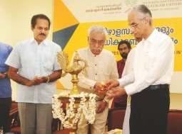 The valedictory meeting of e ree day seminar was inaugurated by Prof. N. Jayaram, famous social scientist and former director of Institute for Social and Economic Change, Bangalore.