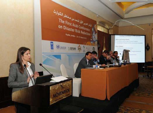 Natural Sciences UNESCO attends first ever Pan-Arab disaster risk reduction conference in Aqaba The UNESCO Amman Office participated in the first Arab Regional Conference on Disaster Risk Reduction