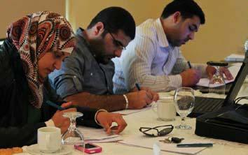 2013 parliamentary elections in Jordan, the EU-funded UNESCO project Enhancing professional and