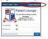 Individual student results are available to parents via Parent Lounge.