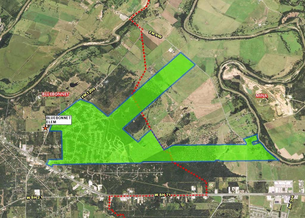 Active Subdivision The Colony The Colony 3,338 approx. total lots 2,755 approx.