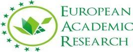 EUROPEAN ACADEMIC RESEARCH Vol. VI, Issue 7/ October 2018 ISSN 2286-4822 www.euacademic.org Impact Factor: 3.4546 (UIF) DRJI Value: 5.