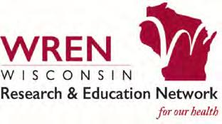 5.3. WISCONSIN RESEARCH AND EDUCATION NETWORK FY17 KEY FACTS Over 1200 clinicians, staff and trainees engaged 15 active research projects, including intraand inter-state projects Nearly 500