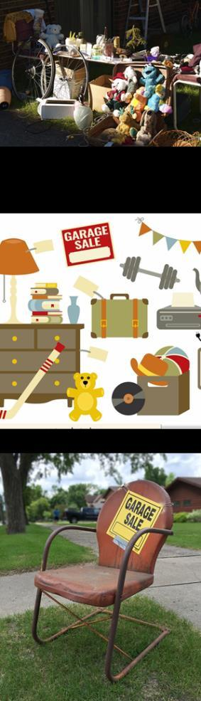 Edinburgh College Annual Garage Sale This Sunday, 22nd April 8:00am-2:00pm For a mere $10 you can have your very own stall to sell your own