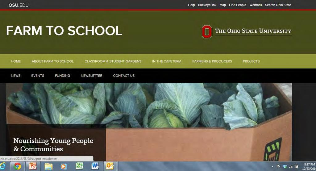 New Ohio Farm to School
