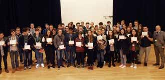 WINNERS! Maths Competitions Each year students enter the UKHT Senior Maths Challenge.