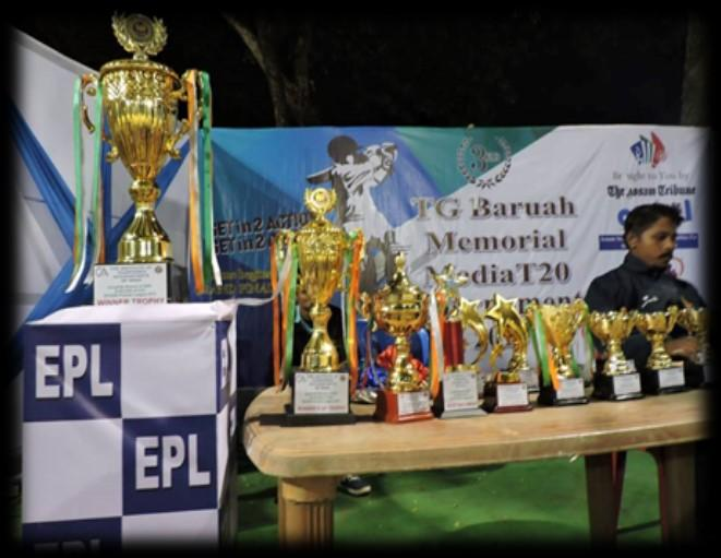 Gopal Bhaiya of Kolkata Team was declared as Man of the Series of the League. Mr.