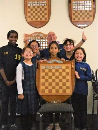 East Marden Primary School ~ Champions of SAJCL Primary Girls Interschool Chess Competitions 2018 The Primary