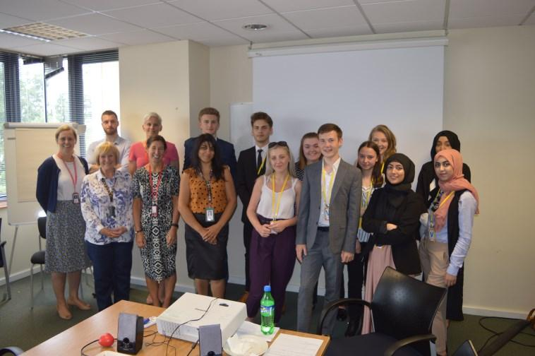 Career Ready - Year 12 Our Year 12 Career Ready students, myself and Mr Rushton visited Fujitsu in Wakefield last month for a day of C.