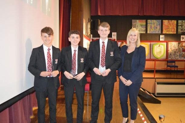 Sports Awards Evening In May, the PE department hosted their annual Sports Awards Evening.