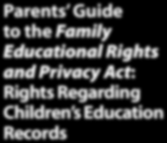 However, FERPA provides ways in which a school may but is not required to share information from an eligible student s education records with parents, without the student s consent.
