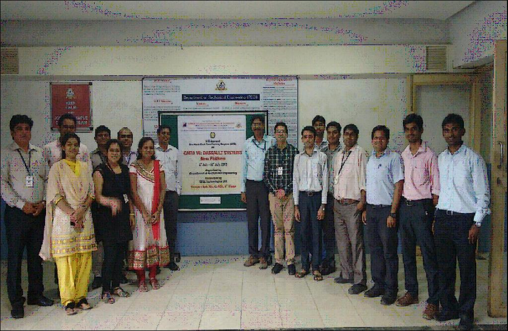 NEWS FROM ISTE FACULTY CHAPTERS MAHARASHTRA & GOA TELENGANA Mauli Group of Institution's College of Engineering and Technology, Shegaon organised one day Induction Training Programme for all teaching