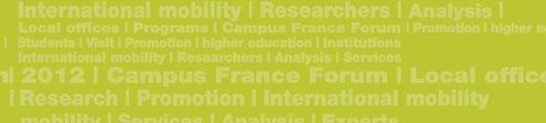 Promotion Marketing French higher education abroad Conceived and designed