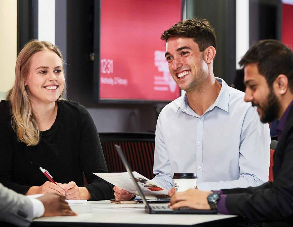 Increase engagement with the La Trobe Industry Mentoring Program.