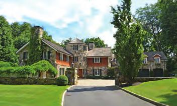 ARMONK WEB# IA1328047 $6,650,000 Elegant six-bedroom Colonial conveys timeless elegance on 11 private