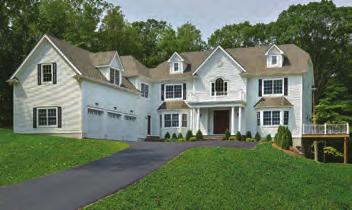 Farmhouse overlooking the Whippoorwill Country Club with pool, pool house and tennis court.