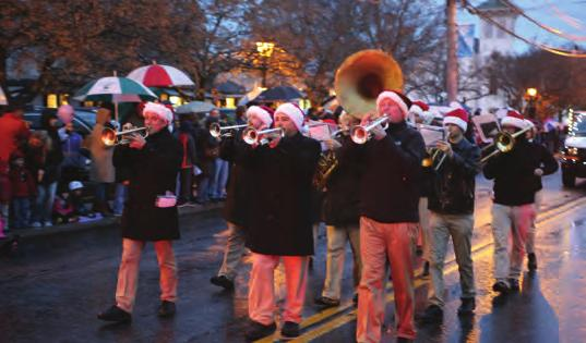 Originally conceived by North Castle Historical Society Vice President Ed Woodyard as a Winter Walk and Tree Lighting in the Park, it morphed into Frosty Day in 2010, when the NCHS decided to