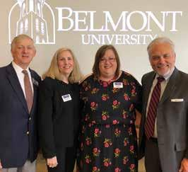 CTE, TNReady changes possible with new state leadership From left: Belmont College of Theology Dean Darrell Gwaltney, TEA Executive Director Carolyn Crowder, TEA President Beth Brown and Pastors for