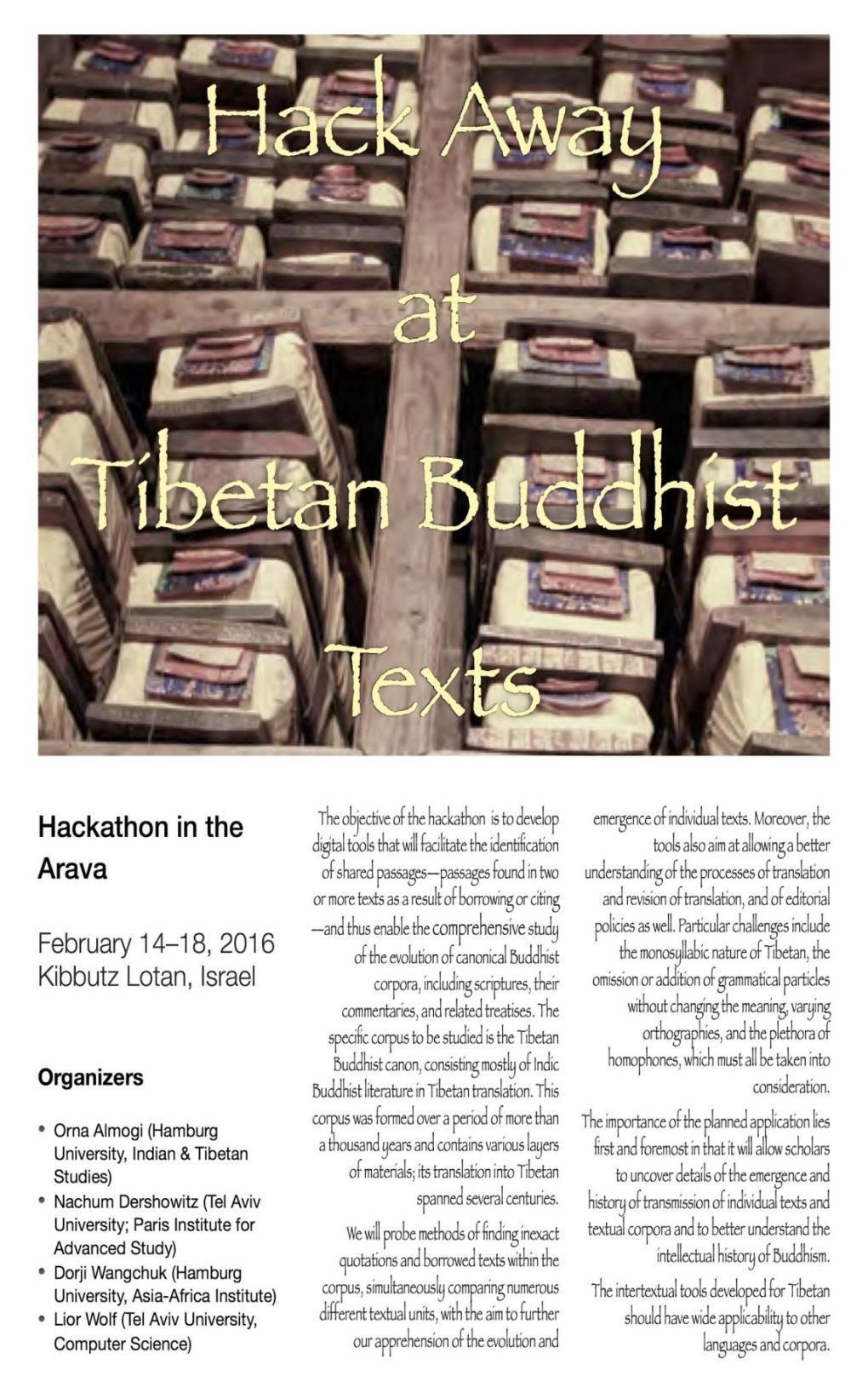 Figure 1. Poster announcement of the hackathon. IV CONCLUSION The intense hackathon format proved to be quite exhilarating.