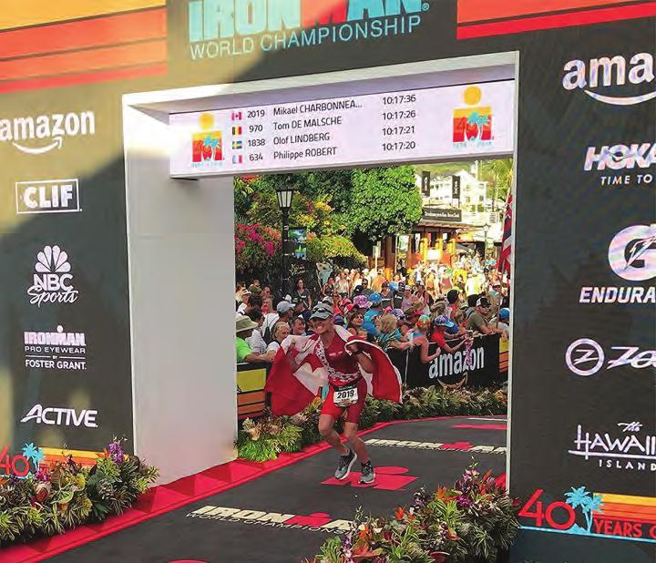 But the opportunity to perform on the world stage wasn t because he had qualified during his Mont-Tremblant race, despite finishing at an impressive overall placement of 104 out of 2,734 athletes.