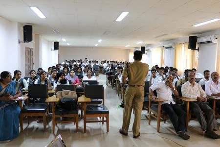 Kuttanad in association with Kuttanadu Legal Service Committee has conducted anti-ragging awareness classes on 29.07.2016.