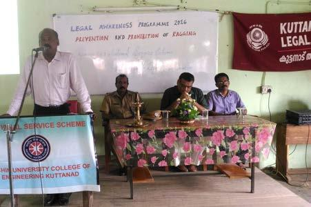 The programme was inaugurated by Sri Anil Kumar, Circle inspector of Police, Pulincunnu. Adv.