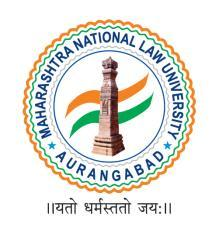 Annexure-A MAHARASHTRA NATIONAL LAW UNIVERSITY, AURANGABAD ~the cradle of future jurists~ APPLICATION FORM Admission for Academic Session 2018-19 (For the candidates belonging to Foreign National/