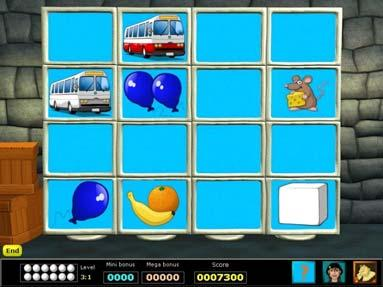 Level 6 Level 6 means that the player is required to remember six objects.