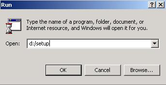 You install Memory Booster onto your computer s hard drive by running the file called setup on the CD (its full file name is setup.exe).
