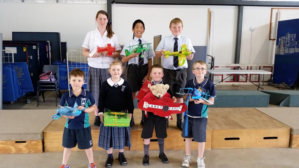 Page 5 Paper Planes take to the sky at Dalby Christian College Dalby Christian College s Inter House Competition is one that is fiercely fought out on the fields and classrooms of the College