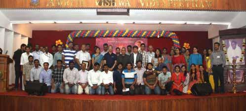 COIMBATORE CAMPUS Amrita School of Engineering The 17 th Annual General Body Meeting of Amrita Alumni Association the alumni association of Amrita Vishwa Vidyapeetham University was conducted with